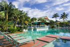 The pool at the Novotel Twin Waters Resort, Sunshine Coast. Photo / Supplied