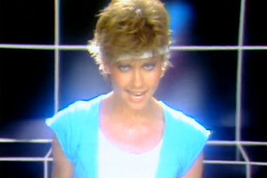 Olivia Newton-John appears in the video for Physical. Photo / YouTube