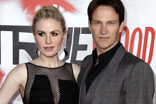 Anna Paquin and Stephen Moyer are reportedly expecting twins. Photo / AP