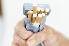 The price of 20 Longbeach Filter cigarettes is $5.19 in the duty-free shop, and $13.10 in the supermarket. Photo / Thinkstock 