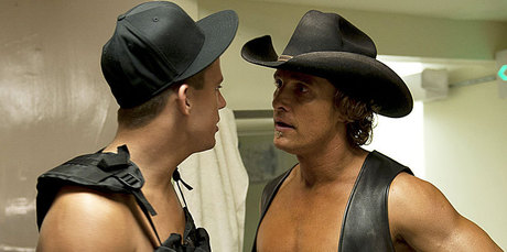 Channing Tatum and Matthew McConaughey in a scene from Magic Mike. Photo / AP