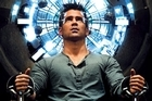 Colin Farell in Total Recall.