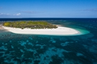 Wilson Island, a pristine coral cay right on the Great Barrier Reef. Photo / Supplied