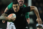 Sonny Bill Williams is giving up his All Black jersey to play rugby in Japan. Photo / Getty Images