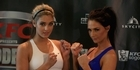 Watch: Boxing: Jamie & Rosie weigh in for the showdown