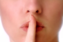 Are women meant to keep quiet to attract a man, or, prevent chasing them away? Photo / Thinkstock