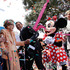 Former first lady Nancy Reagan, Disney CEO Robert Iger and Frederick J. Ryan Jr., chairman of the Ronald Reagan Presidential Foundation celebrate the opening of a Disney Archive exhibit in California. Photo / AP