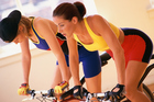 You'll get 90 minutes' 'good, hard grind' at a wind-training class. Photo / Thinkstock
