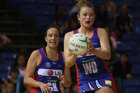 The Northern Mystics have got out of jail to beat the New South Wales Swifts 50-49 in their ANZ Championship match in Auckland. Photo / Getty Images.