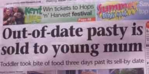 A slow news day in Folkestone? Photo / Supplied