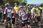 Riders competing in last year's Contact Taupo Cycle Challenge. Photo / Supplied