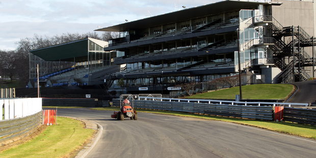 The raceway will be upgraded for V8 Supercars' return. Photo / Doug Sherring
