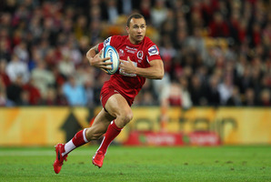Quade Cooper of the Reds. Photo / Getty Images