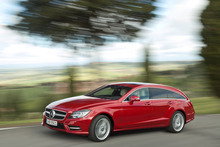 Mercedes Benz CLS Shooting Brake is an 'upstairs' rather than a 'downstairs' car.
