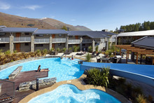 Guests enjoy warm suites and gorgeous mountain views at Wyndam Vacation Resorts in Wanaka. Photo / Supplied