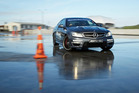 Mercedes' C63 AMG is a rocket that offers drivers plenty of mitigating control. Photo / Supplied
