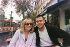 Margaret Sheehy pictured with son Christopher. Her other son, Sean, has been arrested. Photo / Supplied