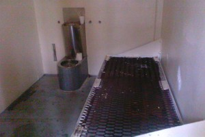 A cell at  Auckland Prison, at Paremoremo Prison. Photo / Supplied