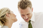 Lovestruck employees' behaviour can soon affect fellow workers. Photo / Stockbyte