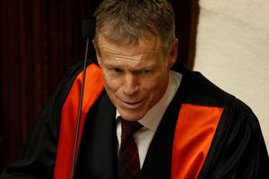 The Speaker, Lockwood Smith. File photo / Mark Mitchell