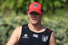 New Zealand Warrior Michael Luck is out for the crucial game against the Titans this weekend. Photo / Greg Bowker