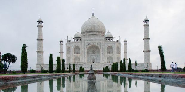The real Taj Mahal in Agra, India. Photo / Greg Bowker