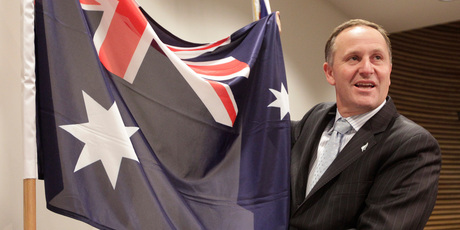 John Key's pragmatism endears him to Australians corporates as a reminder of former Australian Prime Minister John Howard. Photo / Mark Mitchell