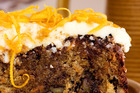 Classic carrot cake. Photo / Babiche Martens