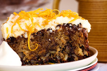 Classic carrot cake. Photo / Babiche Martens