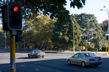 Auckland Transport says the cameras have led to a 69 per cent drop in crashes. Photo / Richard Robinson