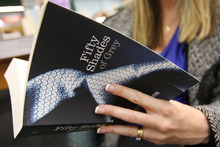 Erotic novel Fifty Shades of Grey is the fastest selling paperback since records began. Photo / APN