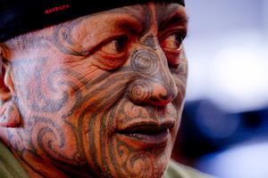 Tame Iti. Photo / NZ Herald