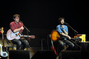 The Conchords' homecoming concerts have been big sellers. Photo / Herald on Sunday.