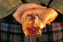 Whisky doesn't necessarily have to be served straight in a nice glass. Photo / Visit Britain
