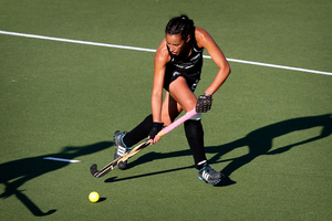 Melody Cooper says she was stunned when Black Sticks coach Mark Hager phoned her.Picture / Natalie Slade.