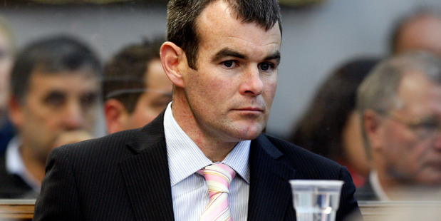 Ewen Macdonald has been acquitted on charges of the murder of Feilding farmer Scott Guy. Photo /  Mark Mitchell