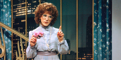 Dustin Hoffman's cross-dressing turn in 1982's Tootsie turned the usual gender imbalance idea on its head. Photo / Supplied