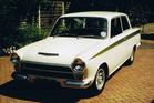 Kerikeri man Phil Sharp has had his classic 1966 Lotus Cortina stolen, last seen heading towards Kaikohe. Photo / Supplied