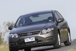 The Ford Falcon Ecoboost's turbo lets a four cylinder haul a car previously only able to be powered by a six. Photo / Supplied
