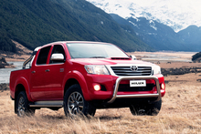 Toyota's Hilux celebrated another strong month as NZ's leading ute.