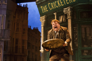 James Corden is a show-stealer in One Man, Two Guvnors. Photo / Supplied
