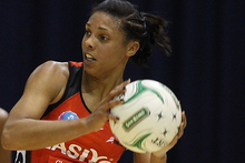 Stacey Francis of the Tactix. Photo / Getty Images.