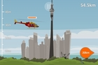 A screenshot from the Rescue 1: Lift Off game. Photo / supplied