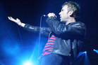 Damon Albarn has debuted two new songs with Blur. Photo / Natalie Slade