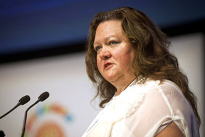 Gina Rinehart, the world's richest woman, controls 14.9pc of Fairfax. Photo / File