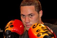 Heavyweight boxer Joseph Parker. Photo / Brett Phibbs