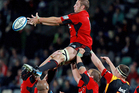The Crusaders have the second best lineout with an 83 winning percentage on their own throw. Photo / Getty Images