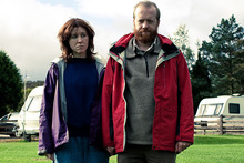A scene from Sightseers, the new film from Ben Wheatley. Photo / Supplied
