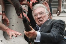 A scene from upcoming movie Cockneys vs Zombies. Photo / Supplied