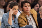 Reports suggest Tom Cruise and Katie Holmes were on the rocks up to six months ago. Photo / AP